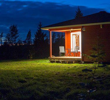 eveningview Hamgården