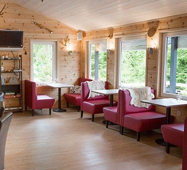 Insidan restaurang Hamgården