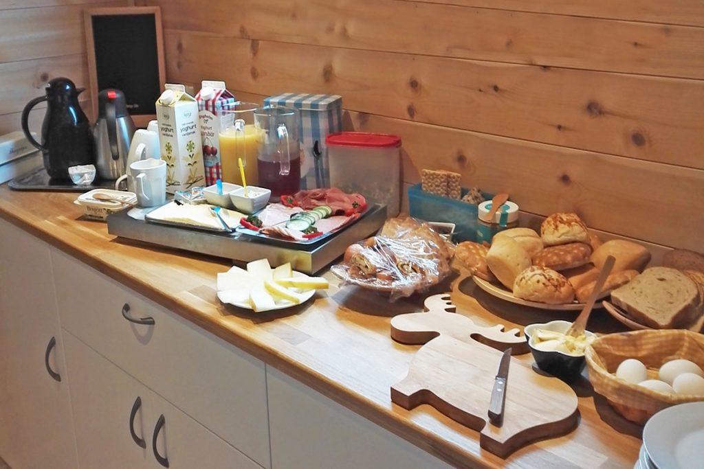 Frühstück Hamgården