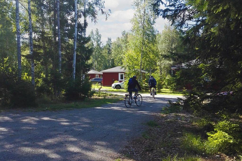 Cykling startar vid Hamgården