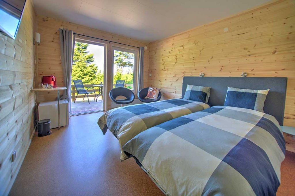 Sleeping well in a hotelroom at Hamgården