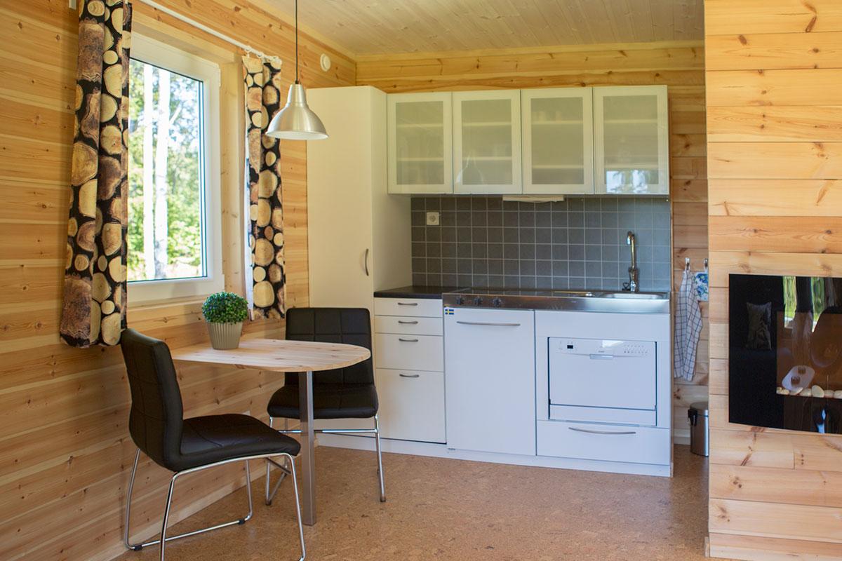 Köksdelen stuga Hamgården