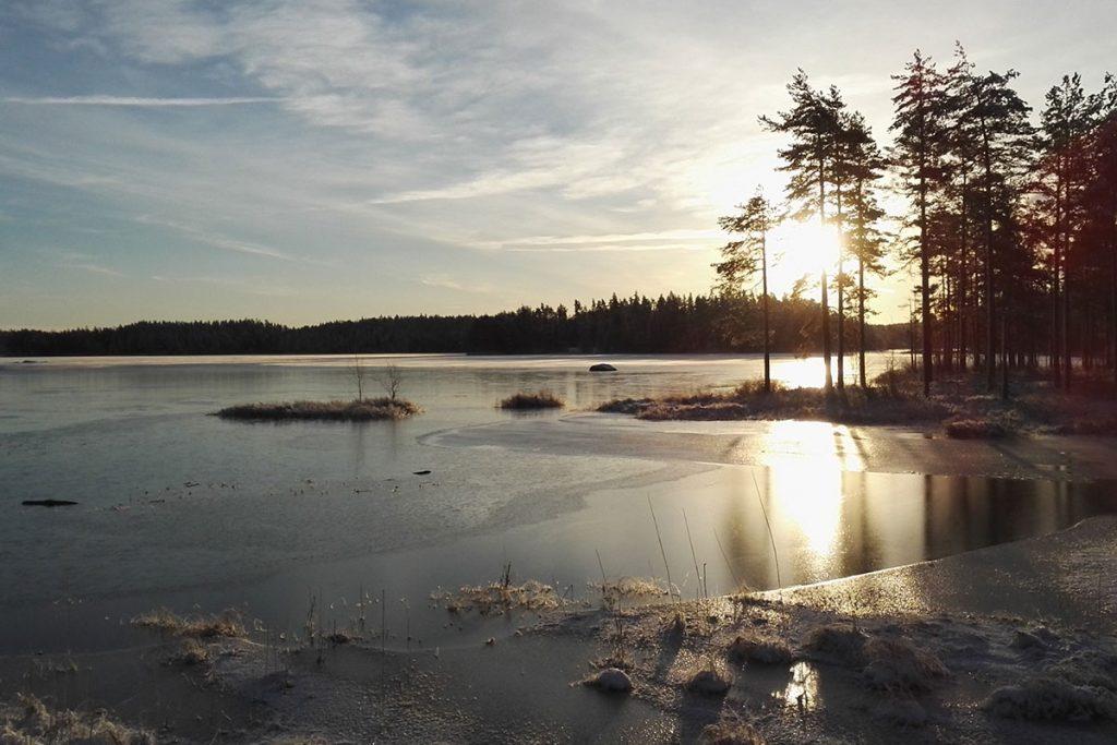 winter Tiveden