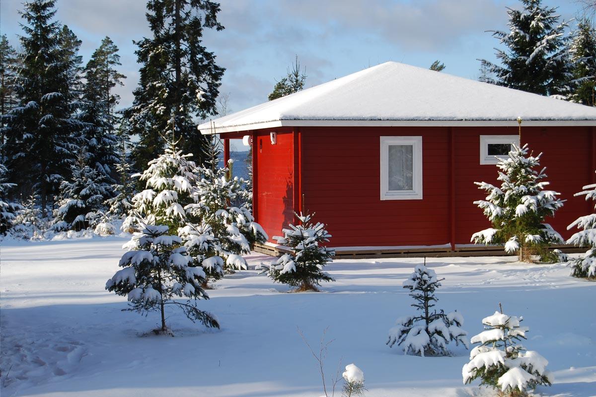 Snowholiday at Hamgården
