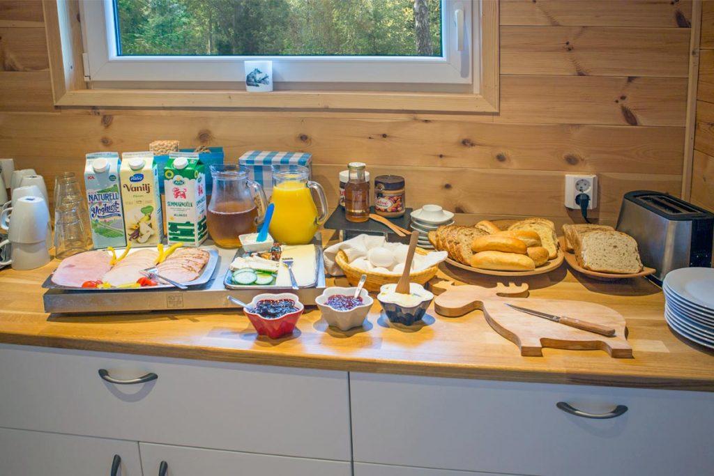 Ontbijt buffet Hamgården